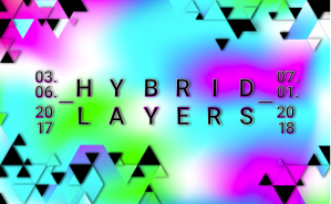 The exhibition »Hybrid Layers« at the ZKM Karlsruhe presents new perspectives on digital technologies, the Internet and social networks. It examines both virtual and physical appearances of a new kind of media art, as well as its ambiguous, seductive and ironic aesthetics.