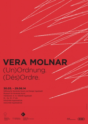 Vera Molnar - Museum für Konkrete Kunst Ingolstadt Exhibition 30 March - 29 June 2014
